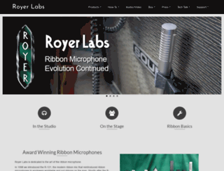 royerlabs.com screenshot