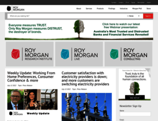 roymorgan.com screenshot