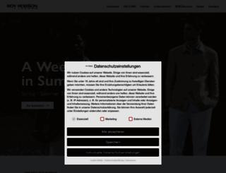 royrobson.com screenshot