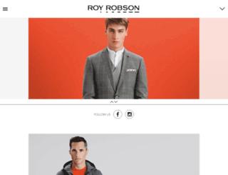 royrobson.eu screenshot