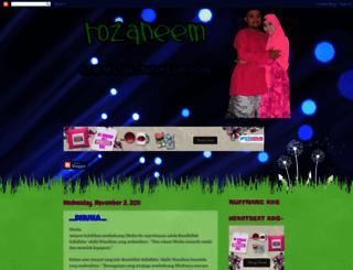 rozaneem.blogspot.com screenshot