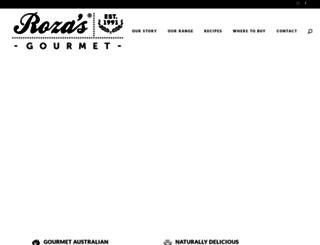 rozas.com.au screenshot