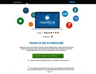 rozectise.cz screenshot