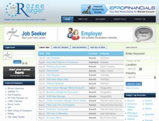 rozeerozgar.com screenshot
