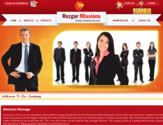 rozgarmissions.com screenshot