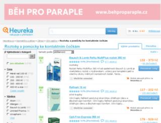 roztoky-kontaktni-cocky.heureka.cz screenshot