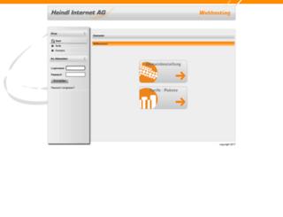 rpadmin.heindl-hosting.de screenshot