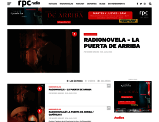 rpcradio.com screenshot