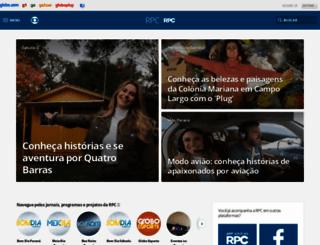 rpctv.com.br screenshot