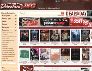 rpg.drivethrustuff.com screenshot