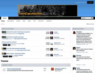rpgmakervxace.com screenshot