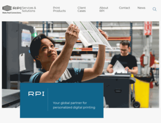 rpiprint.com screenshot