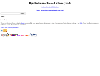 rpmfind.net screenshot