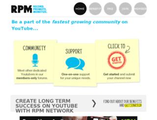 rpmnetwork.com screenshot