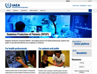 rpop.iaea.org screenshot
