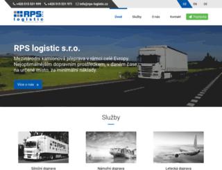 rps-logistic.cz screenshot