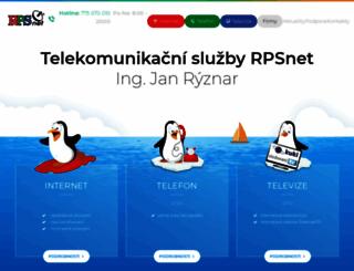 rps.cz screenshot