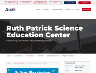 rpsec.usca.edu screenshot