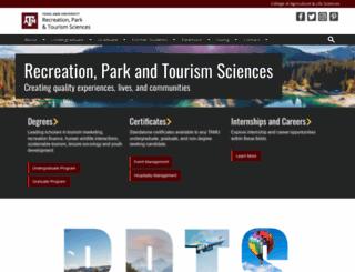 rpts.tamu.edu screenshot
