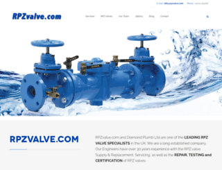 rpzvalve.com screenshot
