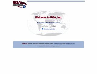 rqa-inc.com screenshot