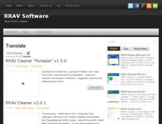 rrav-antivirus.blogspot.com screenshot