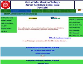 rrcb.gov.in screenshot