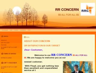 rrconcern.doomby.com screenshot
