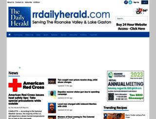 rrdailyherald.com screenshot