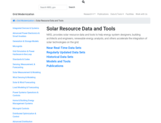 rredc.nrel.gov screenshot