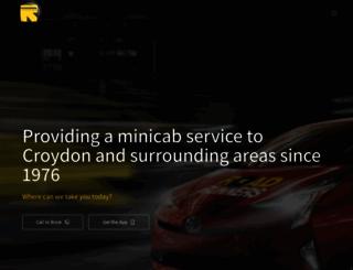 rrminicabs.com screenshot