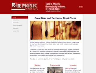 rrmusiccentral.com screenshot