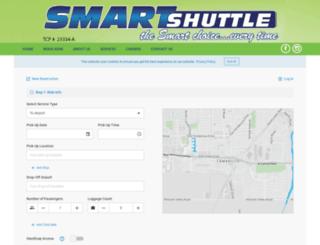 rrshuttle.com screenshot