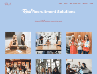 rrsrecruiter.com screenshot