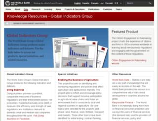 rru.worldbank.org screenshot