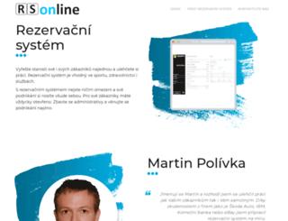rs-online.cz screenshot