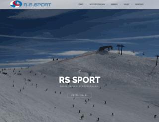 rs-sport.pl screenshot