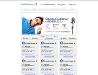 rs1.radiostreamer.com screenshot