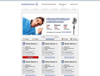rs9.radiostreamer.com screenshot