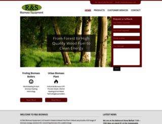 rsbiomass.com screenshot
