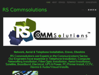rscommsolutions.co.uk screenshot