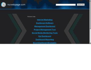 rscwebpage.com screenshot