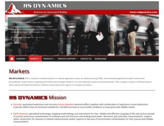 rsdynamics.com screenshot