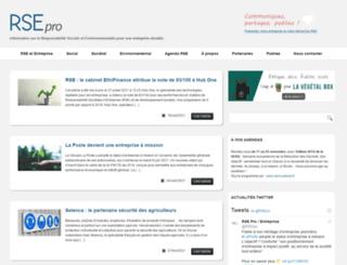 rse-pro.com screenshot