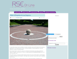 rseonline.com.ar screenshot