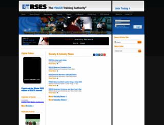 rses.org screenshot