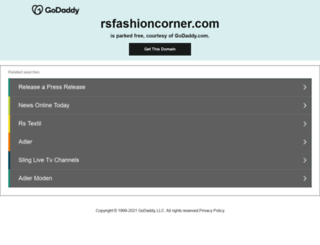 rsfashioncorner.com screenshot