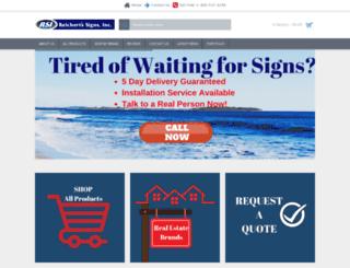 rsisigns.com screenshot