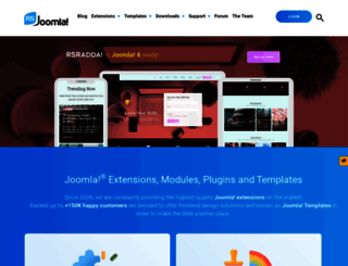 rsjoomla.com screenshot