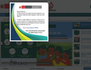 rslc.gob.pe screenshot